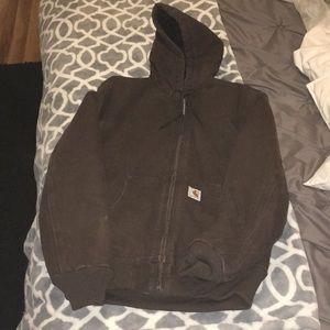 Carhartt Brown Jacket